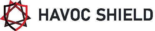 havoc shield dark logo for light bg - side icon one line